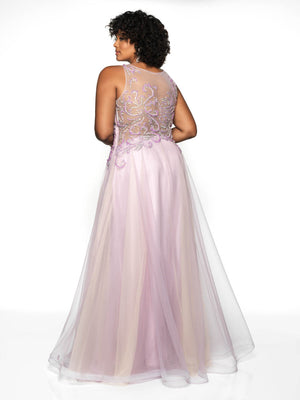Blush Prom 11729W comes in the following colors: Mauve Swirl, Dusty Rose Swirl. $370 is the Formal Approach best price guarantee for style 11729W by Blush Prom.