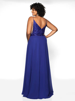 Blush Prom 11730W comes in the following colors: Black, Cobalt, Dusty Mauve. $398 is the Formal Approach best price guarantee for style 11730W by Blush Prom.
