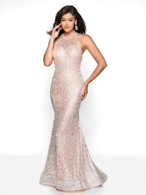 Blush Prom 11736 prom dress images.  Blush Prom 11736 is available in these colors: Mint, Pink.