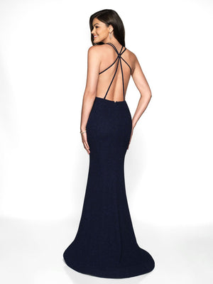 Blush Prom 11738 prom dress images.  Blush Prom 11738 is available in these colors: Black, Navy, Red, Teal.