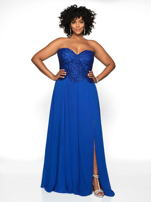 Blush Prom 11757W comes in the following colors: Emerald, Red, Sapphire. $398 is the Formal Approach best price guarantee