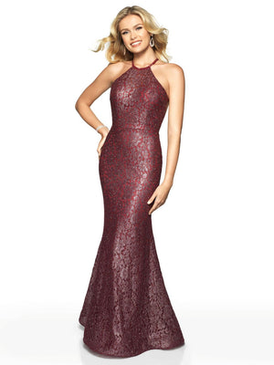 Blush Prom 11769 prom dress images.  Blush Prom 11769 is available in these colors: Black, Sangria.