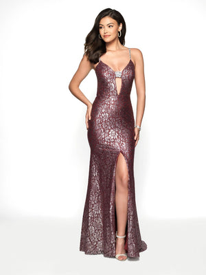 Blush Prom 11772 prom dress images.  Blush Prom 11772 is available in these colors: Black, Sangria.