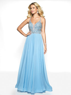 Blush Prom 11780 prom dress images.  Blush Prom 11780 is available in these colors: Light Yellow, Peri Blue.