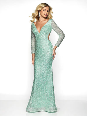 Blush Prom 11783 prom dress images.  Blush Prom 11783 is available in these colors: Mint, Pink.