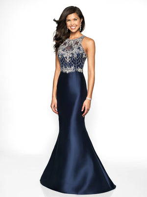 Blush Prom 11784 prom dress images.  Blush Prom 11784 is available in these colors: Black, Black Navy, Emerald, Red.