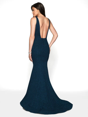 Blush Prom 11787 prom dress images.  Blush Prom 11787 is available in these colors: Navy, Purple, Teal.