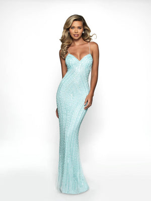 Blush Prom 500 prom dress images.  Blush Prom 500 is available in these colors: Rose Quartz, Navy, Aqua, Black.