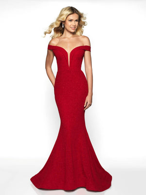 Blush Prom 519 prom dress images.  Blush Prom 519 is available in these colors: Red, Black.