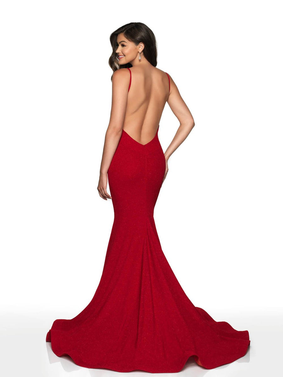 Blush Prom 522 prom dress images.  Blush Prom 522 is available in these colors: Red, Navy.