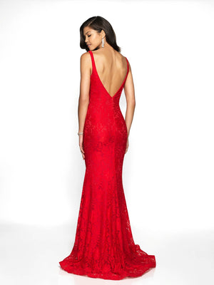 Blush Prom 530 prom dress images.  Blush Prom 530 is available in these colors: Navy, Red.