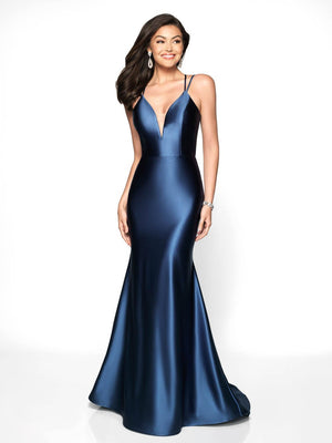 Blush Prom 540 prom dress images.  Blush Prom 540 is available in these colors: Berry Red, Mulberry, Navy.