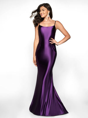 Blush Prom 545 prom dress images.  Blush Prom 545 is available in these colors: Purple, Berry Red, Royal.