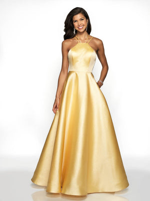 Blush Prom 5703 prom dress images.  Blush Prom 5703 is available in these colors: Gold.