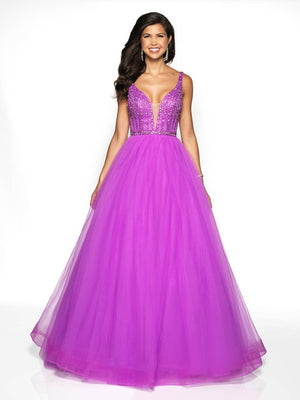 Blush Prom 5707 prom dress images.  Blush Prom 5707 is available in these colors: Orchid, Powder Blue.