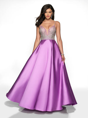 Blush Prom 5712 prom dress images.  Blush Prom 5712 is available in these colors: Light Yellow, Orchid, Periwinkle.