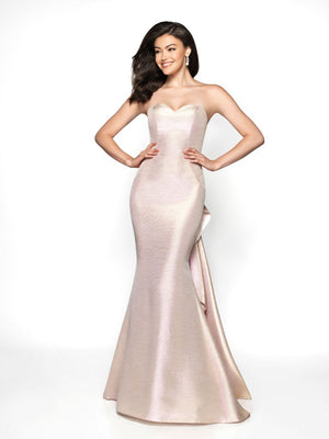 Blush Prom C2003 prom dress images.  Blush Prom C2003 is available in these colors: Blue Metallic, Fuchsia Metallic, Rosewater Metallic.