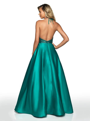 Blush Prom C2016 prom dress images.  Blush Prom C2016 is available in these colors: Emerald, Royal.