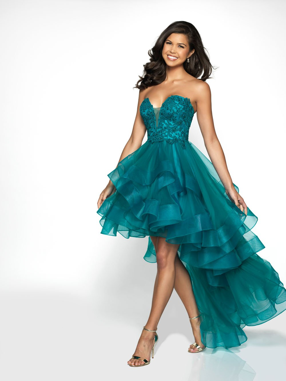 Blush Prom C2030 prom dress images.  Blush Prom C2030 is available in these colors: Wine, Black, Teal.