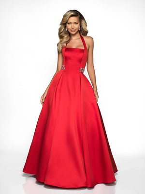 Blush Prom C2038 prom dress images.  Blush Prom C2038 is available in these colors: Valentine, Navy.