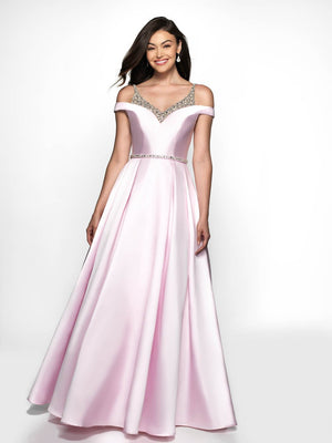 Blush Prom C2046 prom dress images.  Blush Prom C2046 is available in these colors: Valentine, Pink.