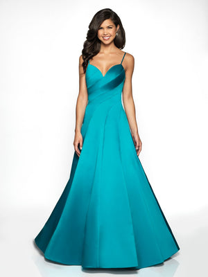 Blush Prom C2059 prom dress images.  Blush Prom C2059 is available in these colors: Claret, Teal, Pink.