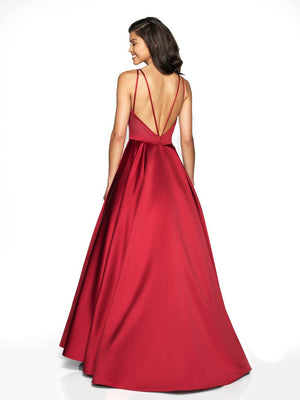 Blush Prom C2077 prom dress images.  Blush Prom C2077 is available in these colors: Claret, Teal, Royal.