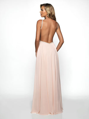 Blush Prom C2081 prom dress images.  Blush Prom C2081 is available in these colors: Blush Nude, Ivory Nude.