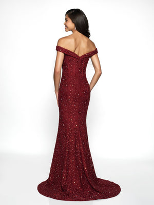 Blush Prom C2084 prom dress images.  Blush Prom C2084 is available in these colors: Royal, Wine, Black.