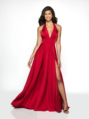 Blush Prom C2100 prom dress images.  Blush Prom C2100 is available in these colors: Claret, Purple, Royal.