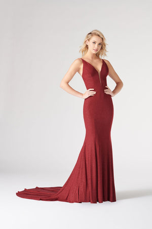 Colette CL19880 prom dress images.  Colette CL19880 is available in these colors: Red Gold, Yellow, Aqua, Burgundy, Black, Pink, Royal Blue.