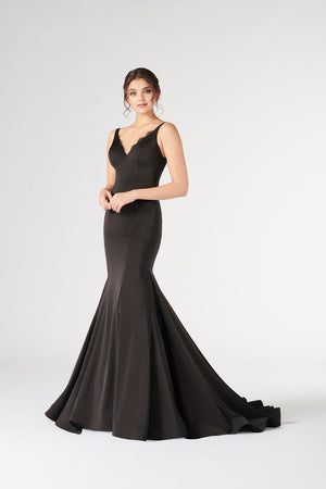 Colette CL19888 prom dress images.  Colette CL19888 is available in these colors: Burgundy, Black.