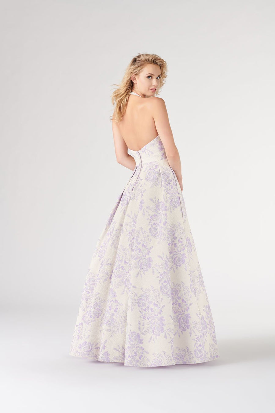 Colette CL19899 prom dress images.  Colette CL19899 is available in these colors: Lilac, Pink, Sky Blue .