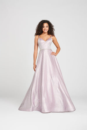 Colette CL12004 prom dress images.  Colette CL12004 is available in these colors: Lilac, Champagne.