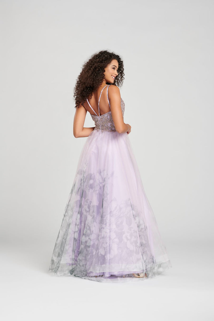 Colette CL12016 prom dress images.  Colette CL12016 is available in these colors: Light Blue, Pink, Lilac.