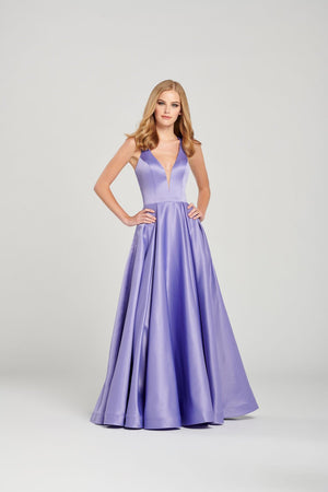 Colette CL12026 prom dress images.  Colette CL12026 is available in these colors: Ivy, Violet, Coral, White.
