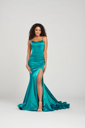 Colette CL12030 prom dress images.  Colette CL12030 is available in these colors: Teal, Wine, Pewter, Plum.