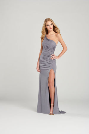 Colette CL12044 prom dress images.  Colette CL12044 is available in these colors: Platinum, Black Gold, Black Silver.