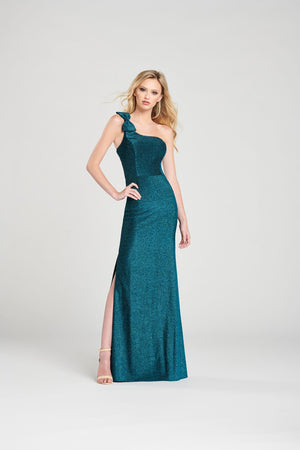 Colette CL12056 prom dress images.  Colette CL12056 is available in these colors: Scarlet, Turquoise, Black.