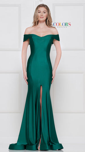 Colors Dress 2107 prom dress images.  Colors 2107 dresses are available in these colors: Berry, Emerald, Navy, Red, Royal, Ultra Violet.