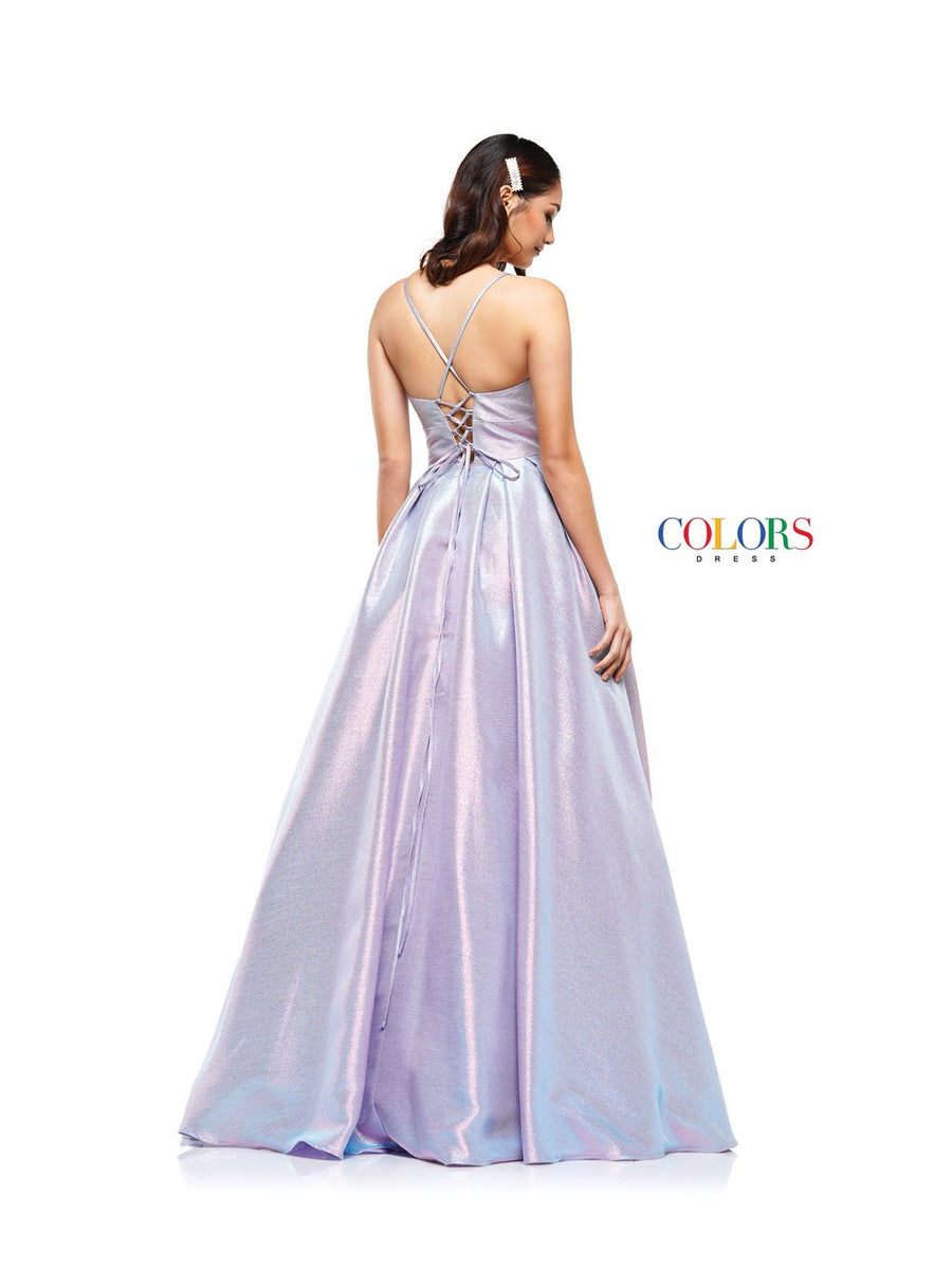 Colors Dress 2164 prom dress images.  Colors 2164 dresses are available in these colors: Aqua Pink, Pink Gold, Silver Black.