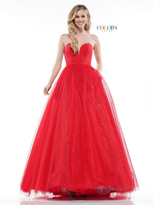 Colors Dress 2166 prom dress images.  Colors 2166 dresses are available in these colors: Black, Red, Royal.