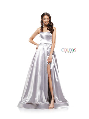 Colors Dress 2182 prom dress images.  Colors 2182 dresses are available in these colors: Light Blue, Grey, Lemon, Midnight, Light Pink, Red.