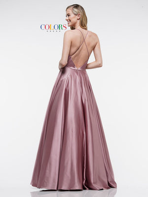 Colors Dress 2183 prom dress images.  Colors 2183 dresses are available in these colors: Cappucchinio, Emerald, Lilac, Nude, Royal.