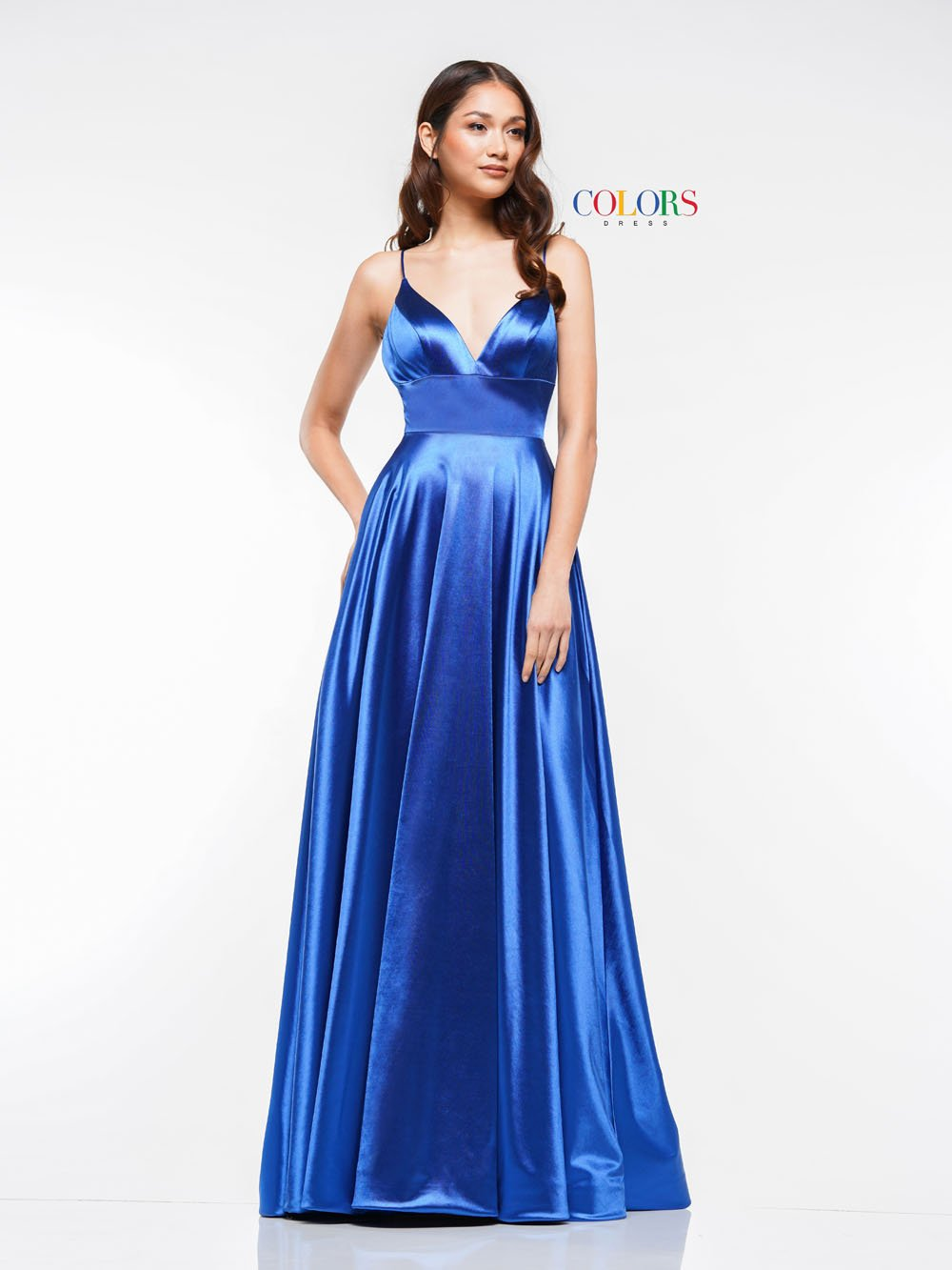 Colors Dress 2184 prom dress images.  Colors 2184 dresses are available in these colors: Black, Blush, Fuchsia, Gunmetal, Royal.
