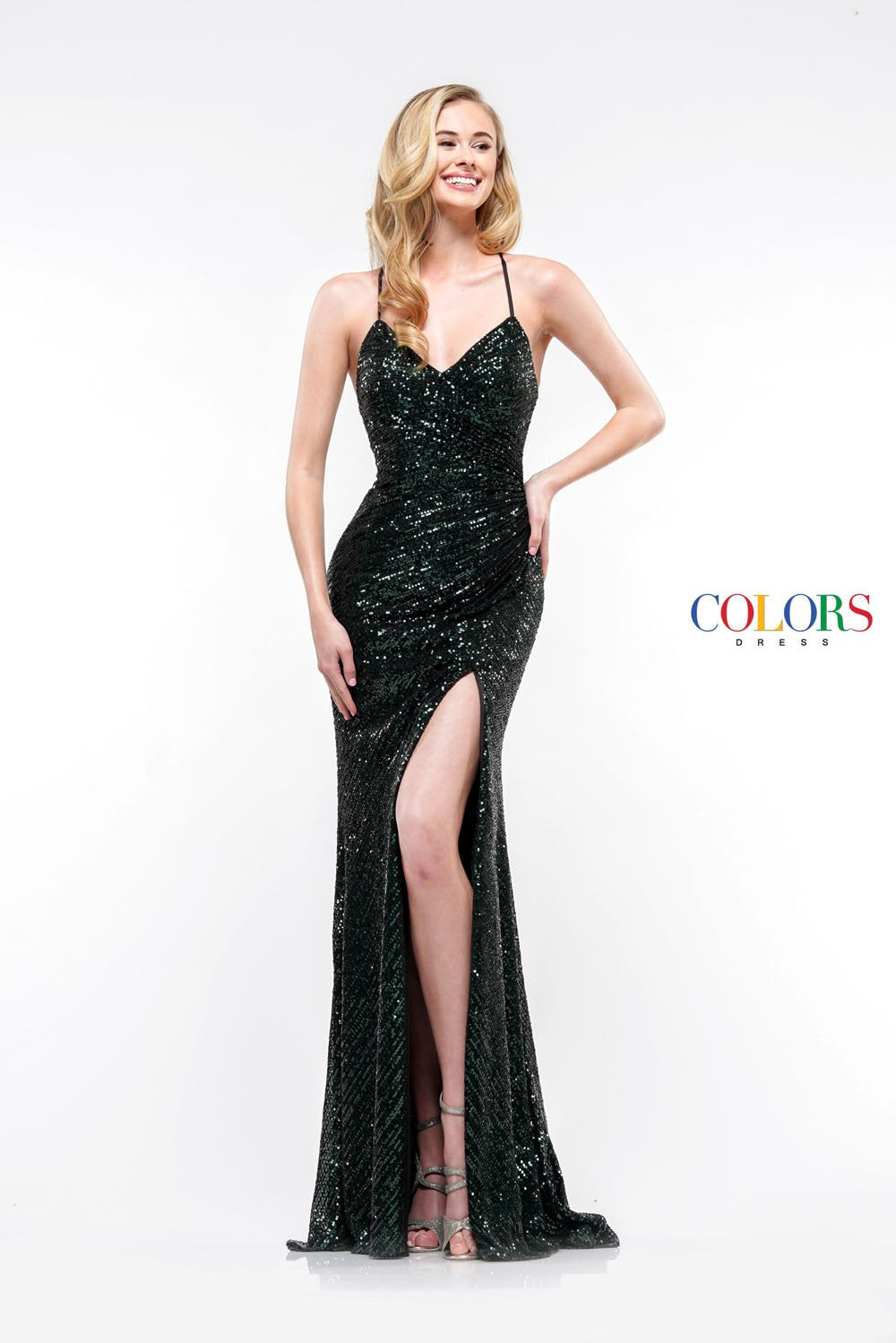 Colors Dress 2188 prom dress images.  Colors 2188 dresses are available in these colors: Gunmetal, Deep Green, Nude, Wine.