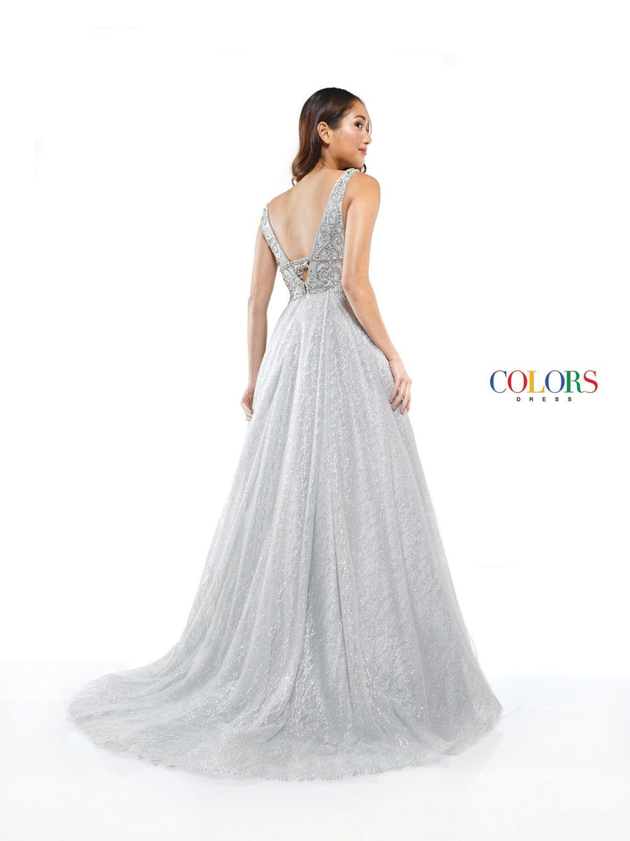 Colors Dress 2286 prom dress images.  Colors 2286 dresses are available in these colors: Silver, Yellow.
