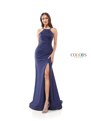 Colors Dress 2305 prom dress images.  Colors 2305 dresses are available in these colors: Burgundy, Black, Blush, Charcoal, Deep Green, Lime, Navy, Poppy, Turquoise.