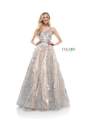 Colors Dress 2316 prom dress images.  Colors 2316 dresses are available in these colors: Pink, Silver.