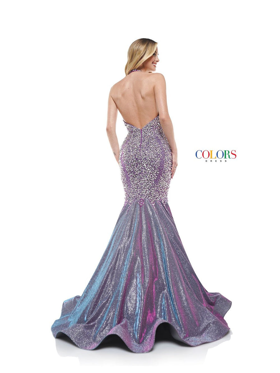 Colors Dress 2317 prom dress images.  Colors 2317 dresses are available in these colors: Blush, Lilac, Royal.